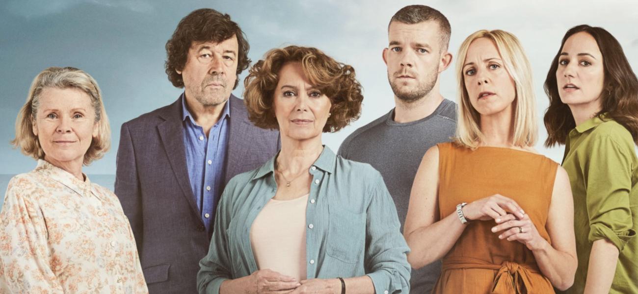 IMEDLA STAUNTON in ITV's FLESH AND BLOOD