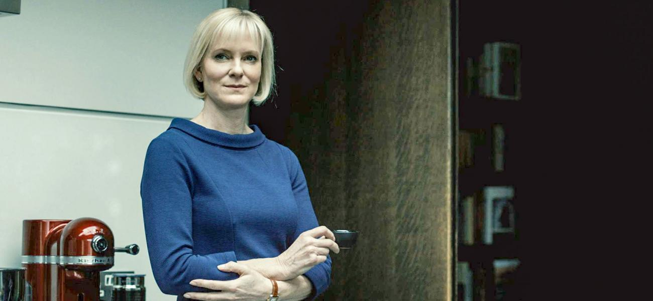 HERMIONE NORRIS stars in LUTHER series 5