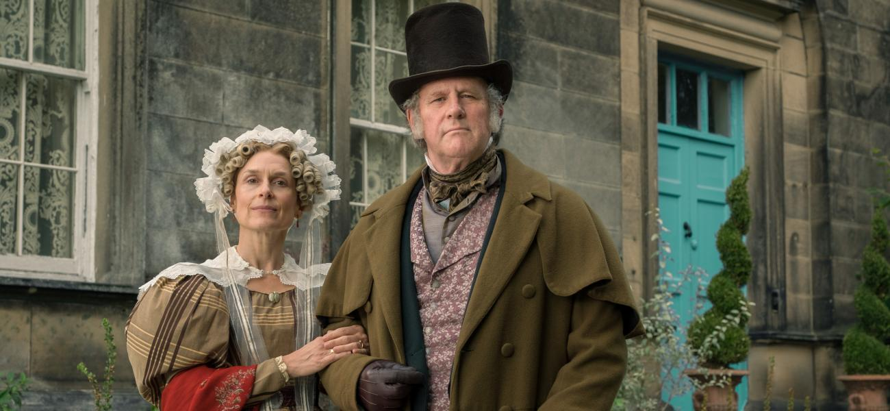 Peter Davison stars in BBC One's GENTLEMAN JACK