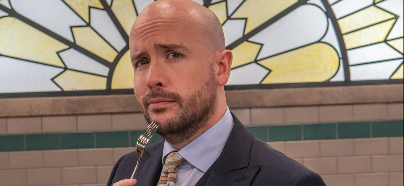 TOM ALLEN is back with BAKE OFF: THE PROFESSIONALS